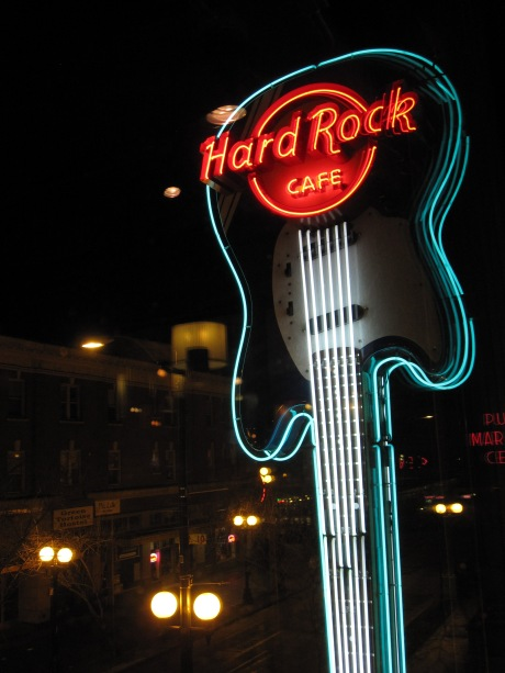 Hard Rock Cafe in Seattle