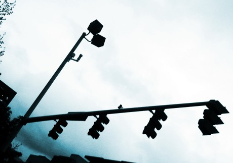 Picture of traffic lights